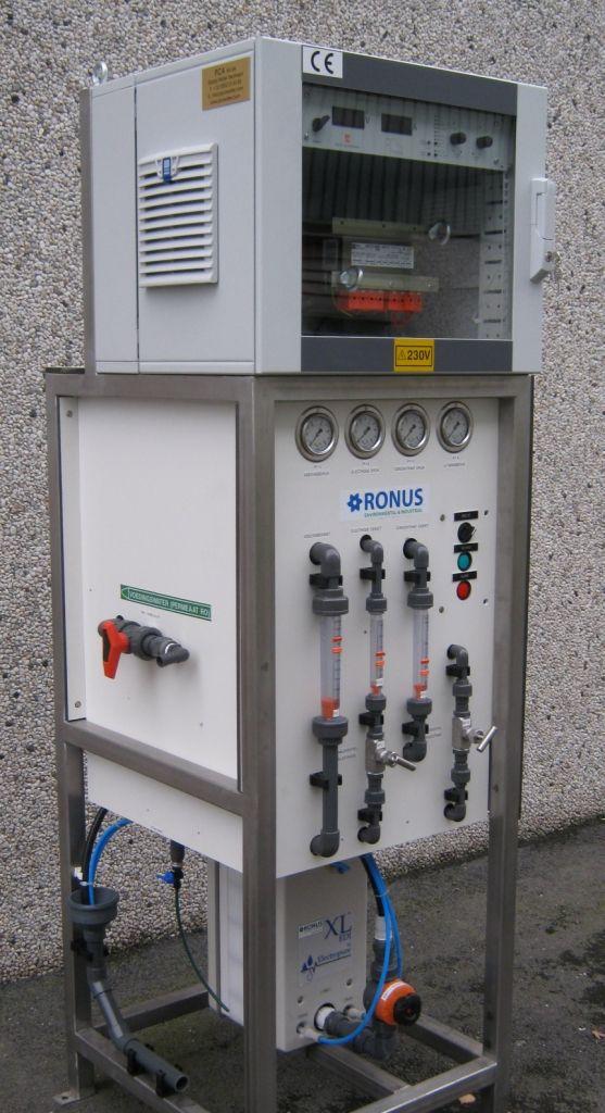 Elektrodeïonisatie, PCA Water