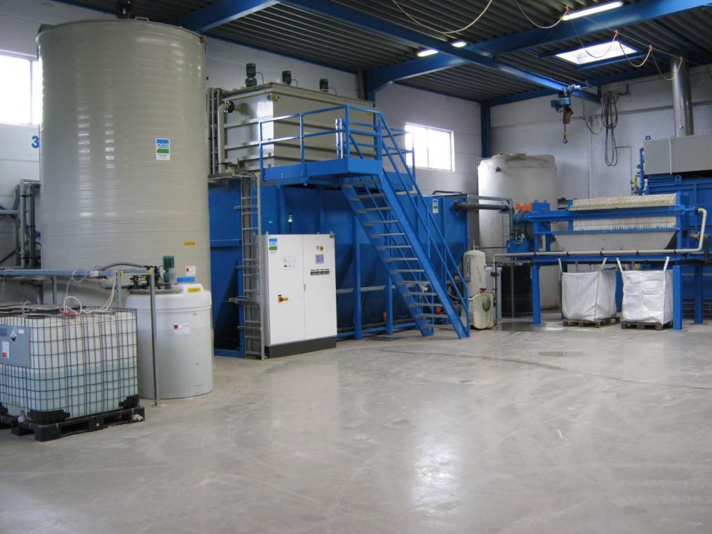 Neutralisatie en flocculatie, PCA Water