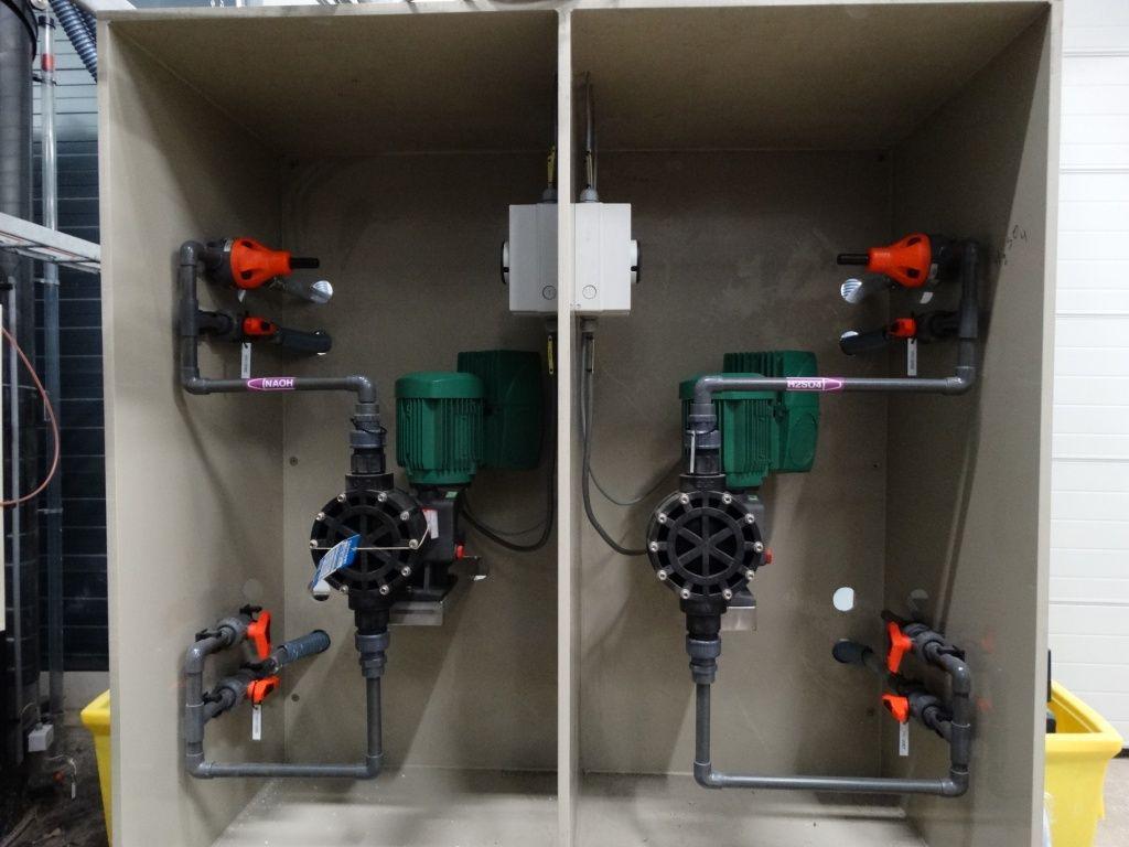 pH en redox controle, PCA Water