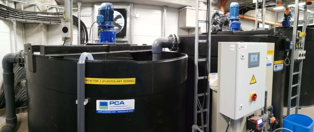 Fysisch-chemische afvalwaterzuivering bij Gustav Wolf, PCA water
