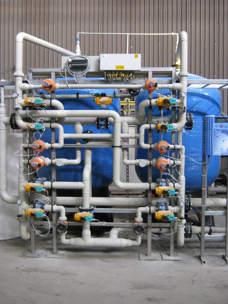 Zandfilter, PCA Water