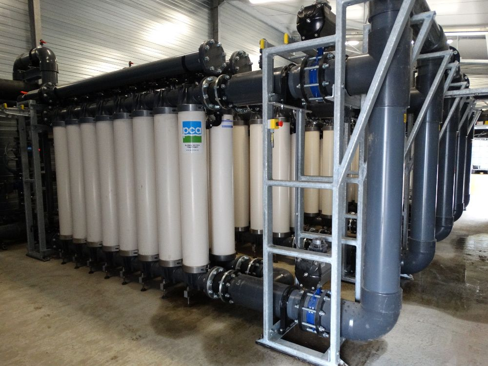 Ultrafiltratie, PCA Water
