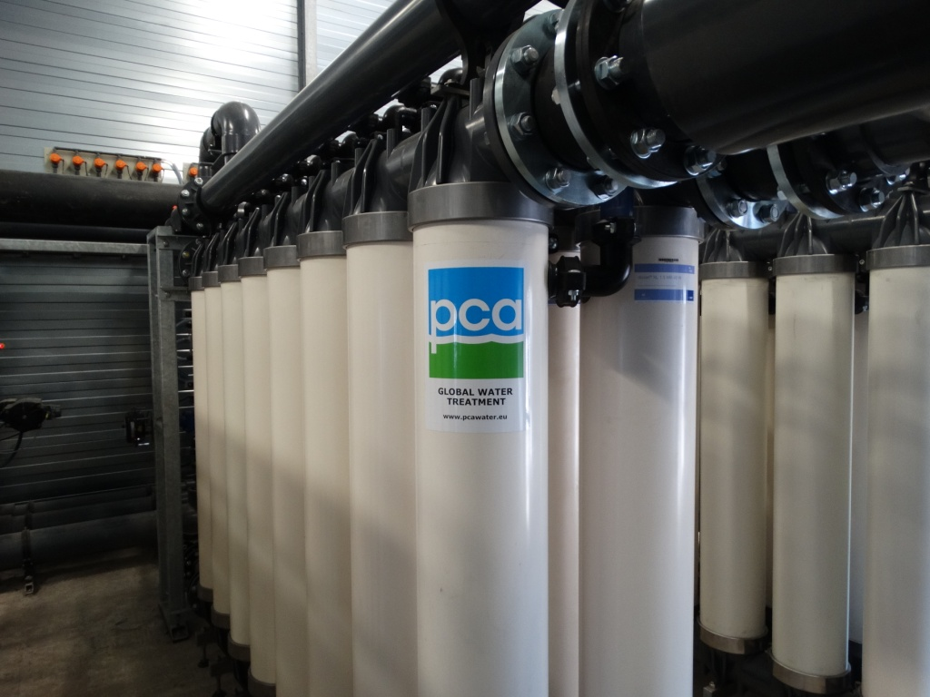 water treatment installation, PCA