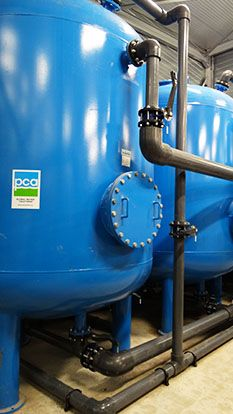 water treatment plant Citrique
