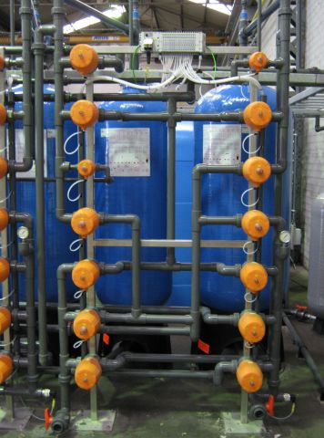 Mixed bed ion exchanger, PCA Water