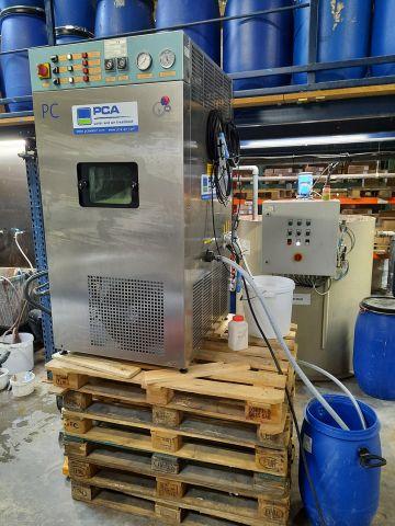Pilot installation vacuum evaporator, PCA Water