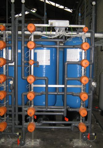 Selective ion exchanger, PCA Water