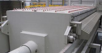 Filter press, PCA Water