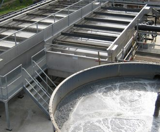 Water pretreatment, flotation, PCA water